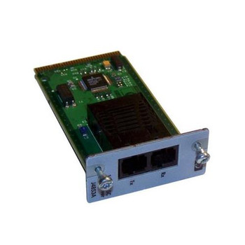 J4853AR HP ProCurve 100Mbps 100Base-FX Multi-mode Fiber 2km 1300nm SC Connector Fast Ethernet Plug-in Transceiver Module