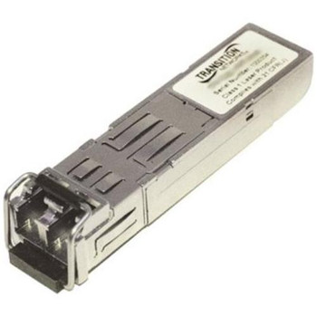 TN-CWDM-SFP-1530-40 Transition Networks 1.25Gbps 1000Base-LX Single Mode 1530nm 40km LC Connector SFP Transceiver Module