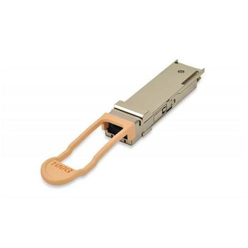 04WJ41 Dell 100Gbps 100GBase-SR4 Multi-mode Fiber 100m 850nm MPO-12 Connector QSFP28 Transceiver Module