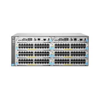 J9821A HP 5406R-ZL2 144-Ports Rack-mountable Managed PoE+ Switch (Refurbished)
