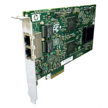 012392-002 HP NC380T PCI-Express Dual Port 1000Base-T Multifunction Gigabit Ethernet Server Adapter Network Interface Card (NIC)