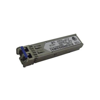 3CSFP92 3Com 1Gbps 1000Base-LX Single-Mode Fiber 10km 1310nm LC Connector SFP (mini-GBIC) Transceiver Module