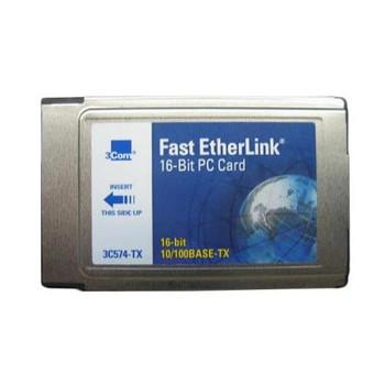 3Com 3C574TX Fast EtherLink PC Card 64x