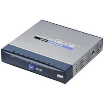 SD208 Linksys 5-Ports RJ-45 10/100Mbps Fast Ethernet Switch (Refurbished) SD205