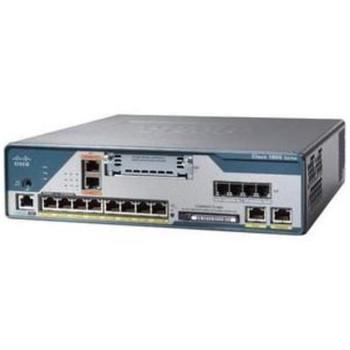 C1861-SRST-F/K9-RF Cisco 1861 8-Ports Fast Ethernet Integrated Services Router - 8-User SRST 4-FXO/4-FXS 8-PoE (Refurbished)