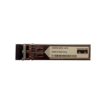 CWDM-SFP-1470-RF Cisco 1Gbps 1000Base-CWDM Single-mode Fiber 80km 1470nm Duplex LC Connector SFP Transceiver Module (Refurbished)