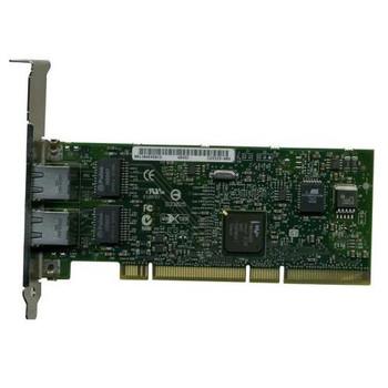 313882-B21 HP NC7170 PCI-X Dual Port 1000Base-T Gigabit Ethernet Server Adapter Network Interface Card (NIC)