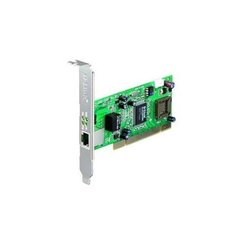 DGE-528T D-Link Single-Port 10/100/1000Mbps Copper Gigabit PCI Ethernet Card for Desktop PC
