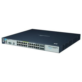 J8692A#ABB HP ProCurve 3500YL 24G-Power Intelligent Edge 24-Ports 10/100/1000Base-T LAN Stackable Ethernet Switch with 4x SFP (mini-GBIC) 1 x Expansio