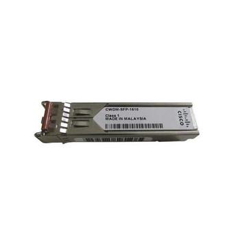 CWDM-SFP-1610-RF Cisco 1Gbps 1000Base-CWDM Fibre Channel Single-mode Fiber 80km 1610nm Duplex LC Connector SFP Transceiver Module (Refurbished)