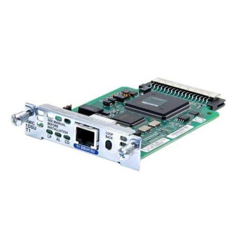 HWIC-1DSU-T1-RF Cisco DSU/CSU WAN Interface Card (Refurbished)
