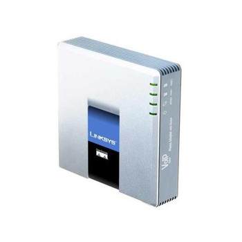 PAP2T-NA Linksys 2-Port Voice-Over-IP (VOIP) Phone Adapter (Refurbished)