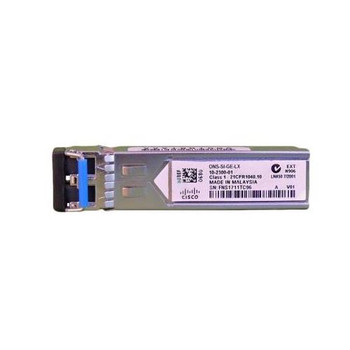 ONS-SI-GE-LX Cisco 1000BASE-LX Small Form-factor Pluggable (SFP) 1310nm Transmitter Wavelength LC Connector Single-mode Fiber (SMF) Industrial Tempera