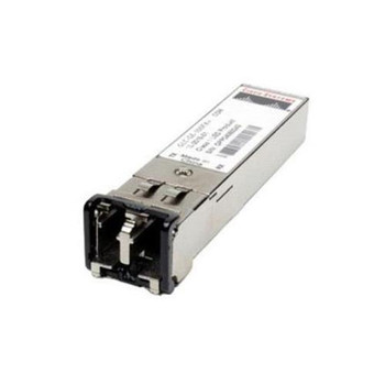 GLC-FE-100FX-RGD Cisco 100Mbps 100Base-FX Multi-Mode Fiber 2km 1310nm Duplex LC Connector SFP Transceiver Module (Refurbished)