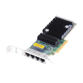 501-7606-07 Sun Quad Port PCI-Express x8 Gigabit Ethernet UTP Low Profile Network Adapter