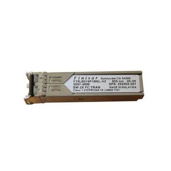 292003-001 HP 2Gbps 1000Base-SX Multi-mode Fiber Short Wave Fibre Channel 300m 850nm LC Connector SFP Transceiver Module