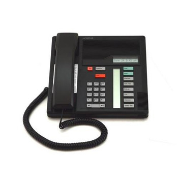 NT8B30AB03 Nortel Norstar M7208 Black Phone (Refurbished)