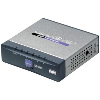 SD205 Linksys 5-Port 10/100Mbps RJ45 High-Speed Switch (Refurbished)