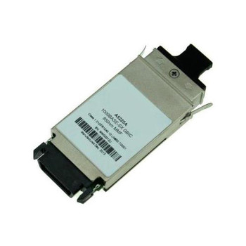 A5225AN HP 1Gbps 1000Base-SX Multi-mode Fiber 550m 850nm Duplex SC Connector GBIC Transceiver Module
