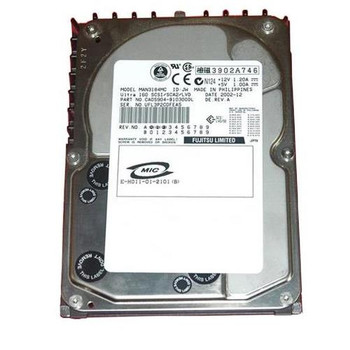 MAN3184MC Fujitsu 18GB 10000RPM Ultra 160 SCSI 3.5 8MB Cache Hard Drive