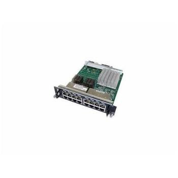 SRX-GP-16GE-POE Juniper 16-Ports 10/ 100/ 1000Base-T PoE XGPIM Ethernet Switch (Refurbished)