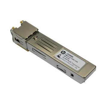 JD089B HP ProCurve X120 1Gbps 1000Base-T Copper 100m RJ45 Connector SFP Transceiver Module