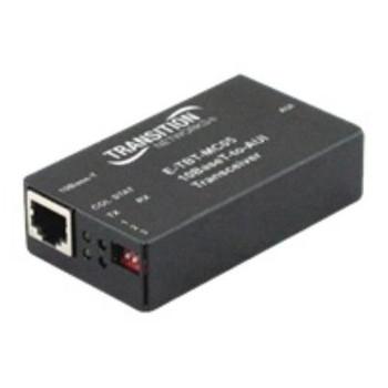 E-TBT-MC05 Transition 10Base-T to AUI RJ45 Connector Transceiver Module