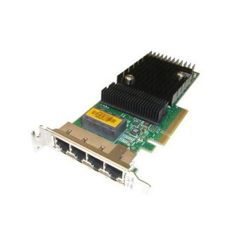 501-7606-06 Sun Quad Port PCI-Express x8 Gigabit Ethernet UTP Low Profile Network Adapter