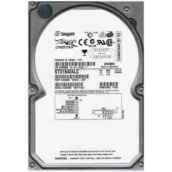ST318404LC Seagate 18GB 10000RPM Ultra 160 SCSI 3.5 4MB Cache Cheetah Hard Drive