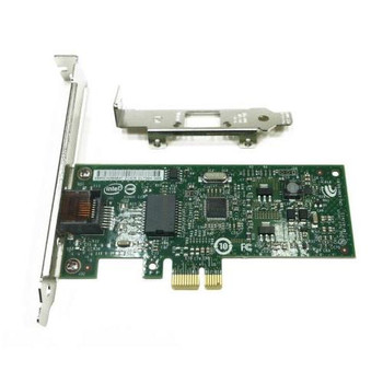 635523-001 HP Intel Pro 1000 CT GbE Network Interface (NIC) Card 1 x Network (RJ-45) Twisted Pair Full-height