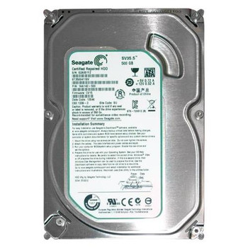 1AA142-500 Seagate 500GB 7200RPM SATA 6.0 Gbps 3.5 16MB Cache SV35.5 Hard Drive