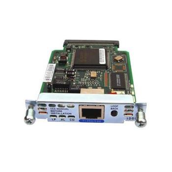 HWIC-1DSU-T1 Cisco 1-Port T1/Fractional T1 DSU/CSU WAN Interface Card 1 x T1 WAN (Refurbished)