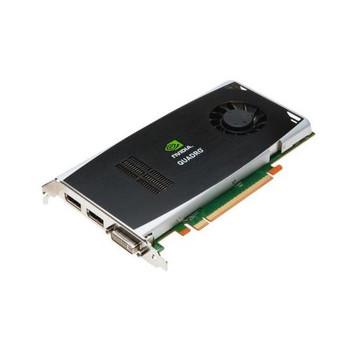NL762AV HP Nvidia Quadro FX1800 PCI-Express x16 768MB GDDR3 400MHz (1 x DVI-I 2 X DisplayPort) Video Graphics Card