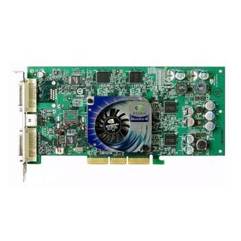 313285-001 HP Nvidia Quadro4 980XGL AGP 8x 128MB DDR Dual DVI Video Graphics Card