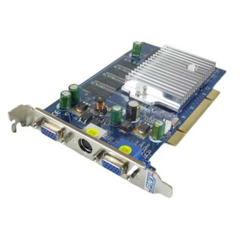 GF05200PUD25G PNY GeForce FX 5200 256MB 128-Bit DDR PCI Dual VGA Video Graphics Card