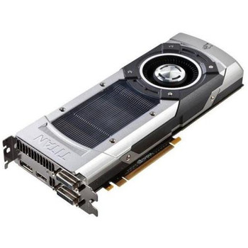 GTXTITAN-6GD5 ASUS nVidia GeForce GTX TITAN 6GB GDDR5 384-Bit Dual DVI/ HDMI/ Display Port/ HDCP Support PCI Express 3.0 Video Graphics Card