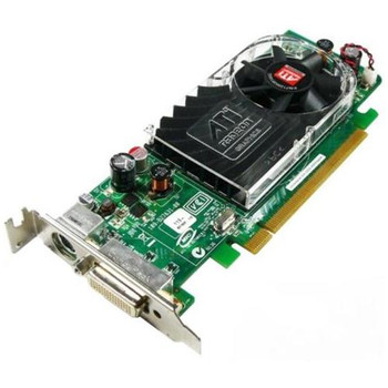 0Y104D ATI Radeon HD 3450 256MB PCI Express DMS-59/ S-Video Low Profile Video Graphics Card