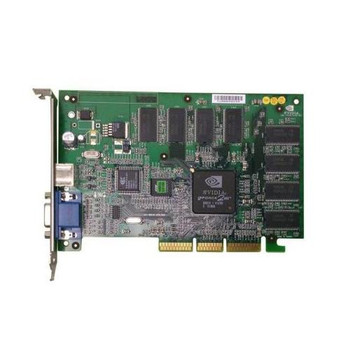 600-10036-0100 Nvidia 64MB Agp Video Graphics Card GeForce2 Mx With Vga and S-video Ports