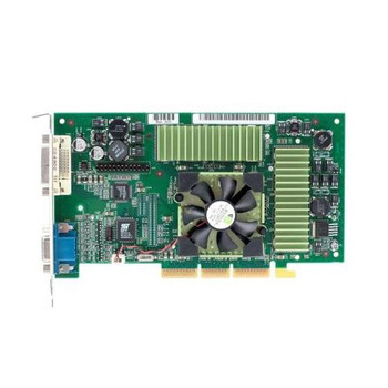 180-P0032-0100-A02 Nvidia 64MB Agp Video Graphics Card With Vga and Dvi Outputs