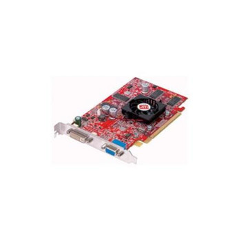 109-A33431-00 ATI FireGL V3100 128MB PCI Express VGA DVI Outputs Video Graphics Card