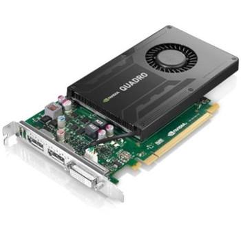 00YL372 Lenovo Nvidia Quad K2200 4GB GDDR5 PCI Express x16 GPU Video Graphics Card