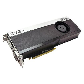 04G-P4-3685-KR EVGA GeForce GTX 680 FTW Standard 4GB 256-Bit GDDR5 PCI Express 3.0 x16 HDCP Ready/ SLI Support Video Graphics Card