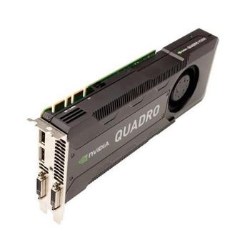 180-12004-1005-B02 Nvidia Quadro K5000 4GB DDR5 256-bit PCI Express 2.0 x16 Dual-Link DVI/ 2x Displayport Workstation Video Graphics Card for Apple Ma