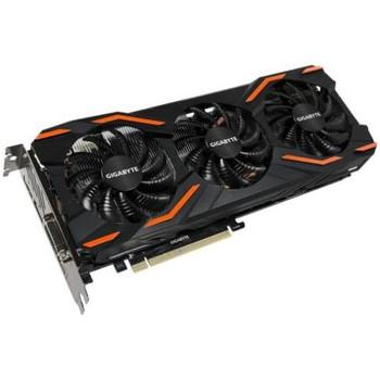 GV-N1080D5X-8GD Gigabyte Ultra Durable VGA GeForce GTX 1080 Graphic Card 1.63 GHz Core 1.77 GHz Boost Clock 8GB GDDR5X PCI Express 3.0 x16