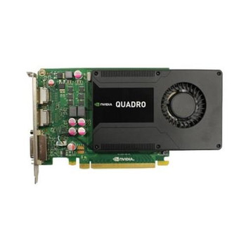 00JHRJ Dell 2GB GDDR5 128-bit Quadro K2000 2 x DisplayPort / Dual Link DVI-I PCI Express 2.0 x16 Video Graphics Card