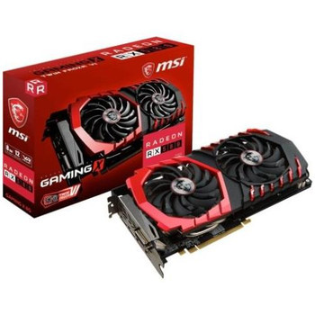 R580GX8 MSI RX 580 GAMING X 8G Radeon RX 580 Graphic Card 1.34 GHz Core 1.39 GHz Boost Clock 8GB GDDR5 PCI Express 3.0 x16