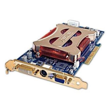 180-10172-0000-A00 Nvidia 256MB AGP Video Graphics Card With DVI VGA and Svideo Output