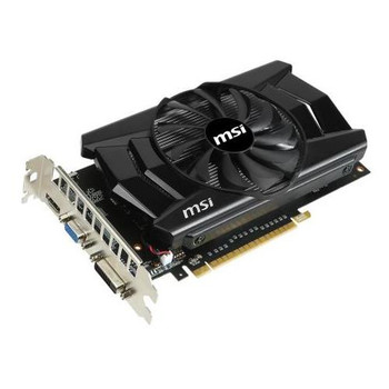 N750TI-2GD5/OC MSI GeForce GTX 750 Ti 2GB 128-Bit GDDR5 PCI Express 3.0 DVI/ HDMI/ D-Sub Video Graphics Card