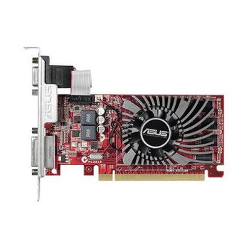90YV04T0-M0NA00 ASUS Radeon R7 240 2GB 128-Bit DDR3 PCI Express 3.0 VGA/ DVI/ HDMI Low Profile Video Graphics Card