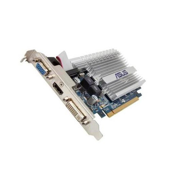 8400GS-1GD3-SL ASUS GeForce 8400GS 1GB DDR3 64-Bit PCI Express 2.0 x16 HDMI/ D-Sub/ DVI/ VGA Video Graphics Card